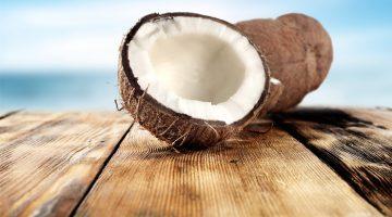 кокосът универсалното масло