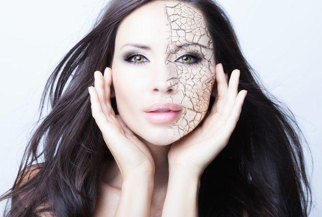 Как да се справим със сухата кожа на лицето