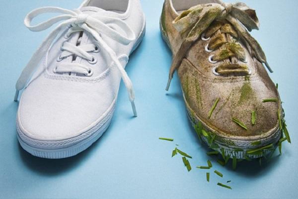 Как да изперем правилно спортните обувки