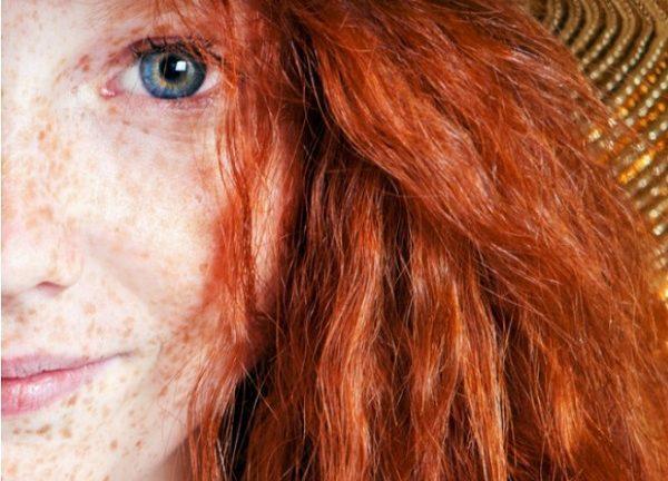 Летният цвят на косата – червеното